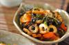 ちくわと芽ヒジキの炒め煮の作り方の手順