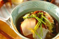 白菜と練り物のくったり煮