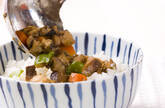 アジそぼろご飯の作り方3