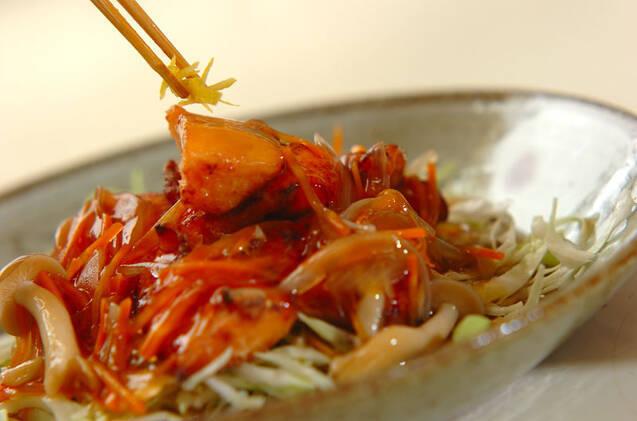 揚げ鮭のあんかけの作り方の手順10