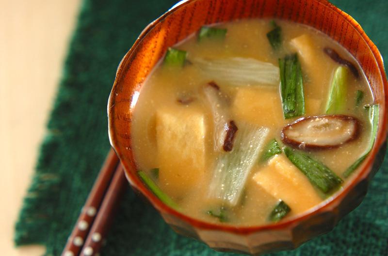 長芋の田舎味噌汁