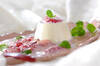 豆乳プリン・フレッシュイチゴソースの作り方の手順