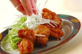 鶏もも肉のカリッと揚げの作り方2