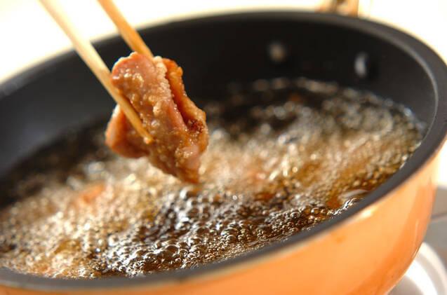 鶏もも肉のカリッと揚げの作り方の手順5