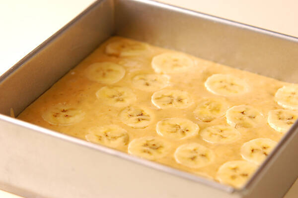 バナナブレッドの作り方の手順11