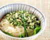 高菜ネギ素麺の作り方の手順