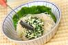 高菜ネギ素麺の作り方の手順4
