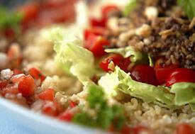 玄米タコライス