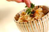 キノコの炊き込みご飯の作り方5