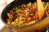 コンビーフのカレーチャーハンの作り方8