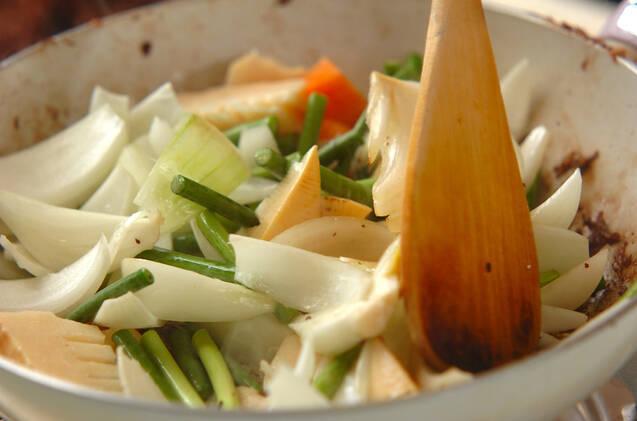 牛肉の中華炒めの作り方の手順9
