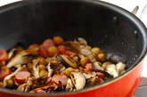 冷凍で作り置き キノコと豆のキッシュの作り方5
