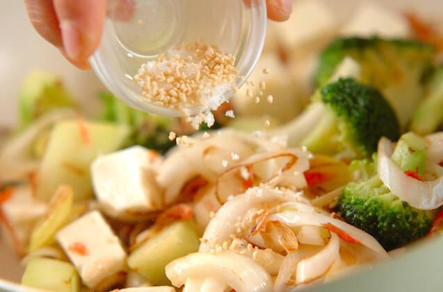 ブロッコリーの塩炒めの作り方の手順6
