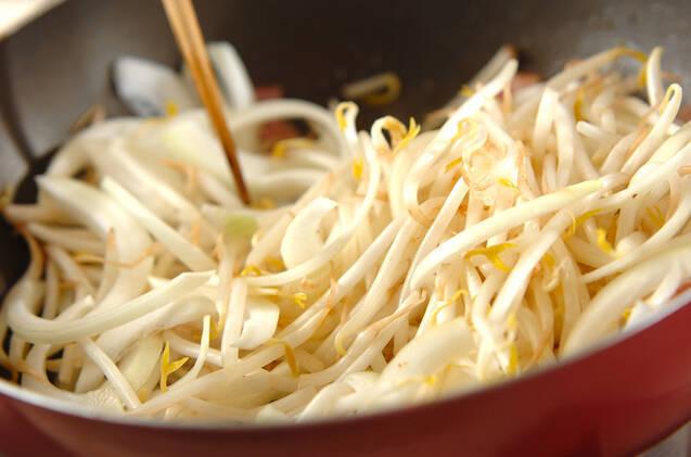 モヤシのココナッツ炒めの作り方の手順5