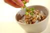 タコ納豆の作り方の手順4