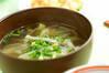 モヤシとタケノコのスープ