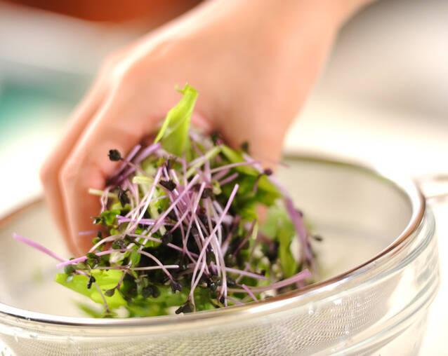 ユズそばサラダの作り方の手順7