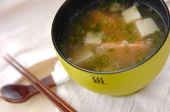 鮭のおろし汁