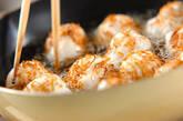 ココナッツ揚げ団子の作り方4