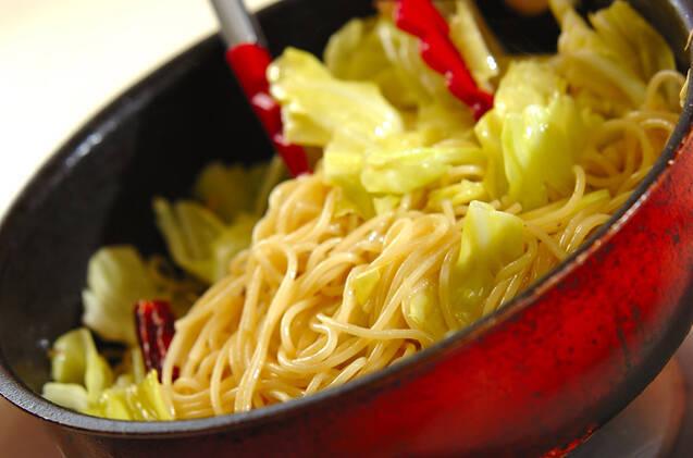 アンチョビのスパゲティーの作り方の手順7