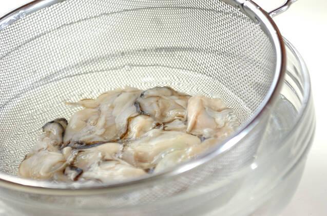 カキのカレー風味フライの作り方の手順1