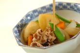 豚肉で肉ジャガの作り方4