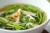 セリのスープ