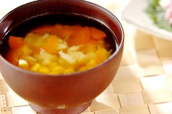 つぶしジャガのスープ