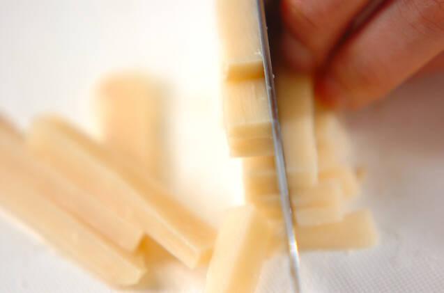 タケノコの佃煮の作り方の手順1
