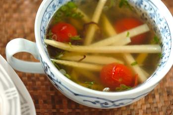 タケノコのスープ