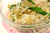 レンジ豆モヤシナムルの作り方1