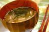 納豆とエノキのみそ汁の作り方の手順