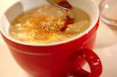 ふんわり卵のトロロ汁の作り方3