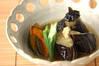 ナスとカボチャの揚げづけの作り方の手順