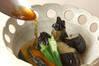 ナスとカボチャの揚げづけの作り方の手順7