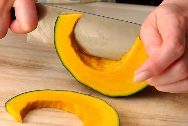 ナスとカボチャの揚げづけの作り方の手順2