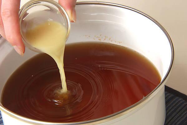 ナスとカボチャの揚げづけの作り方の手順4