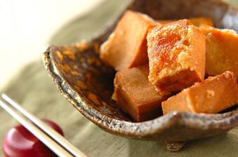 高野豆腐の竜田揚げ