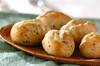 枝豆チーズパンの作り方の手順