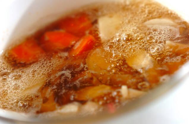 ゴロゴロ根菜のゴマ和えの作り方の手順2