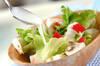 簡単サラダの作り方の手順4