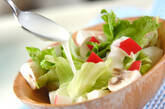 簡単サラダの作り方4