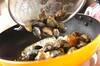 アサリのバター蒸しニンニク風味の作り方の手順3