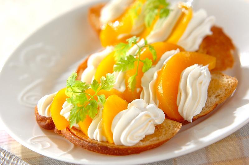 ホイップクリームの特徴をいかしたレシピ