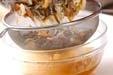 ゼンマイご飯の作り方2