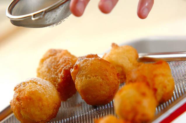 ひとくちドーナツの作り方の手順3