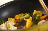 カリフラワーのカレー炒めの作り方2
