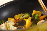 カリフラワーのカレー炒めの作り方5