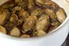 カキの佃煮の作り方の手順3