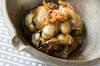 カキの佃煮の作り方の手順